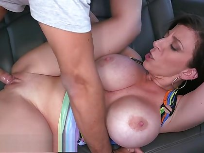 BANGBROS - MILF Sara Jay's Huge Ass Fucked On The Bang Omnibus in Miami