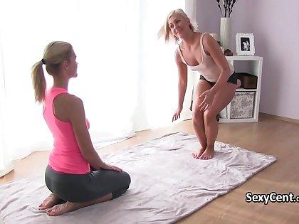 Yoga pants lesbian minority fucking