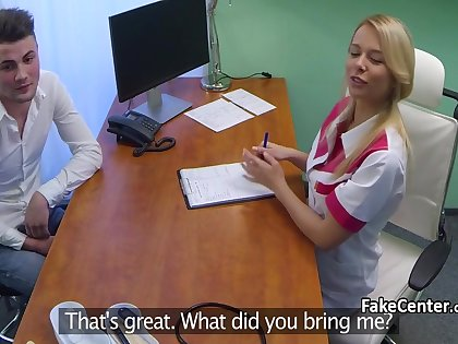 Milf nurse fucked young stud more hospital