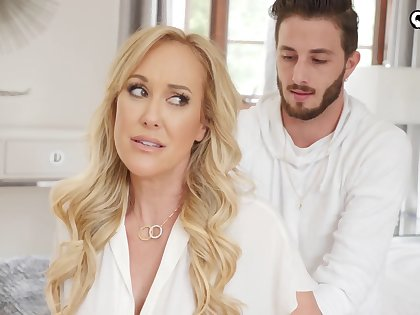 Stacked MILF stepmom wants more than just a massage from will not hear of stepson