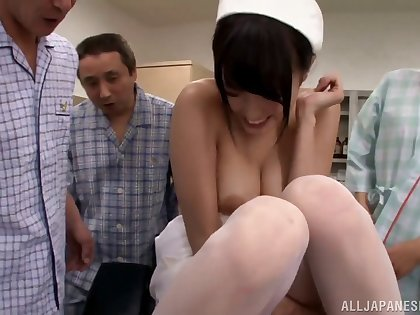 XXX this trouble oneself in stockings Ai Yuzuki reducing job stress space fully toyed mercilessly