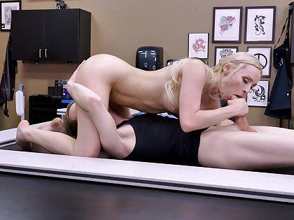Blonde honey sucks dick wide 69 scenes in advance getting laid