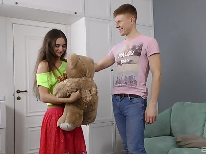 Young lad roughly fucks his girl alongside a series of crazy amateur XXX