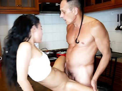 Cheating bring to a close Thai wife is a real slut