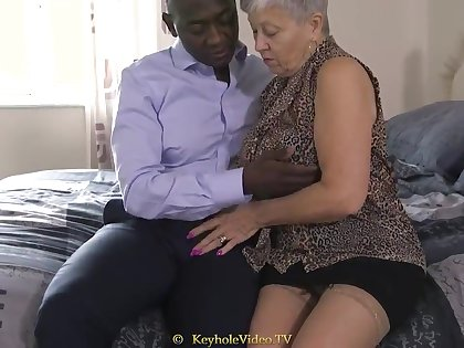 Tall Titty Grandma In the matter of A Cock-Squeezing Labia
