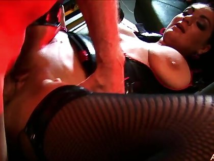 Tainted babes Kit and Kat Lee get fucked by one older man