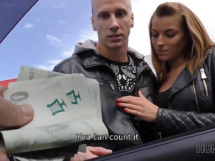 Bald cuck sells girlfriends twat for solid amount