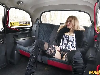 Car park taxi fuck be required of sexy Russian